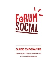 150707 forum social 2015 dossier exposants 2015