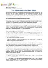 article la cooperation source d emplois juillet 2015