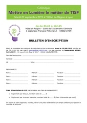 bulletin inscription colloque tisf 29 septembre 2015