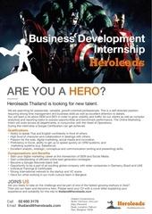 business development intern at heroleads uni web