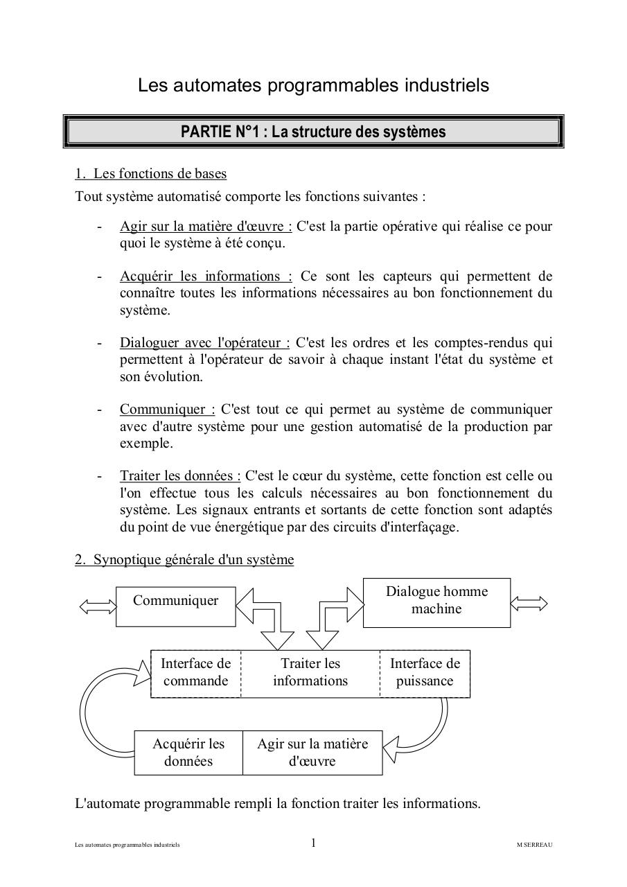 automate programmable industriel introduction.pdf - page 1/8