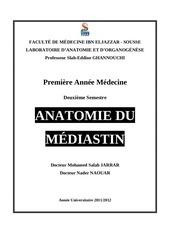 anatomie mediastin 2012