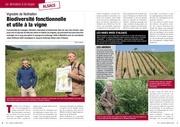 article biodiversite fonctionnelle viti