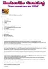 Fichier PDF lasagnes