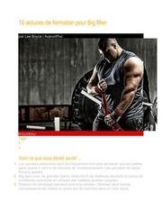 10 astuces de formation pour big men