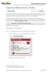 Fichier PDF 1338 supprimer definitivement eraser