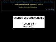 cours 05 gecosys partie 02