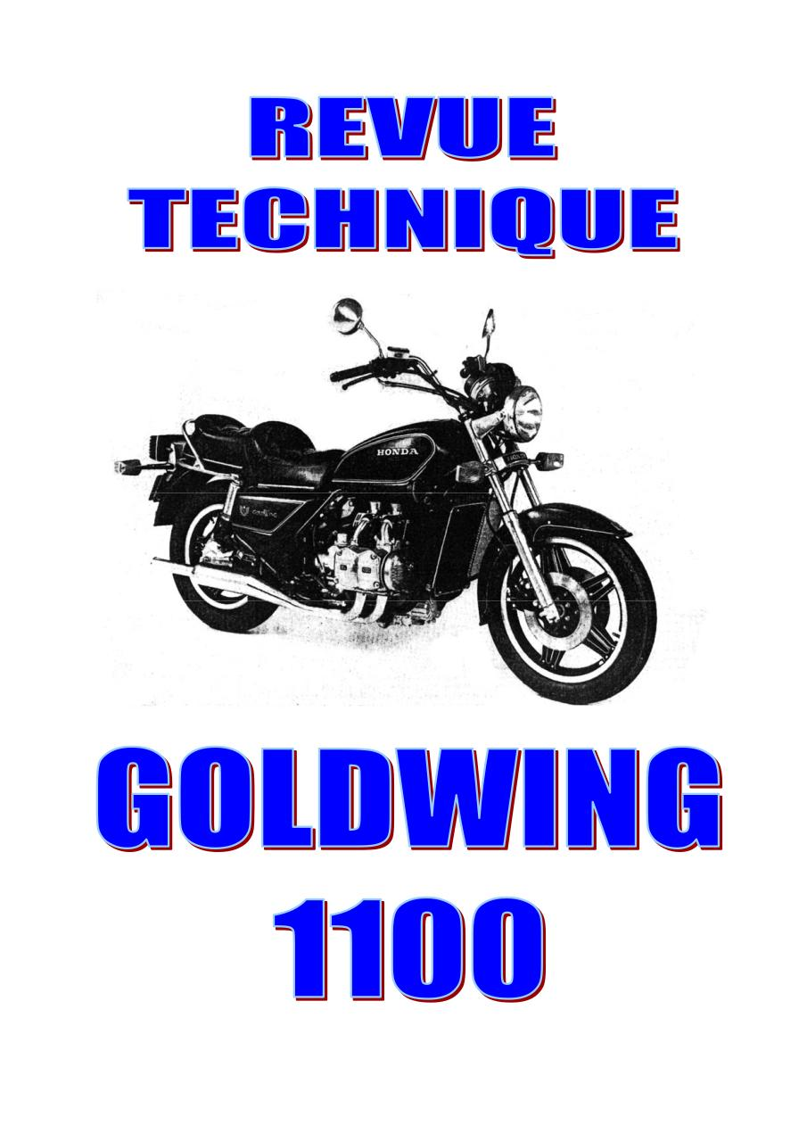 Aperçu du document Goldwing 1100 manuel.pdf - page 1/94