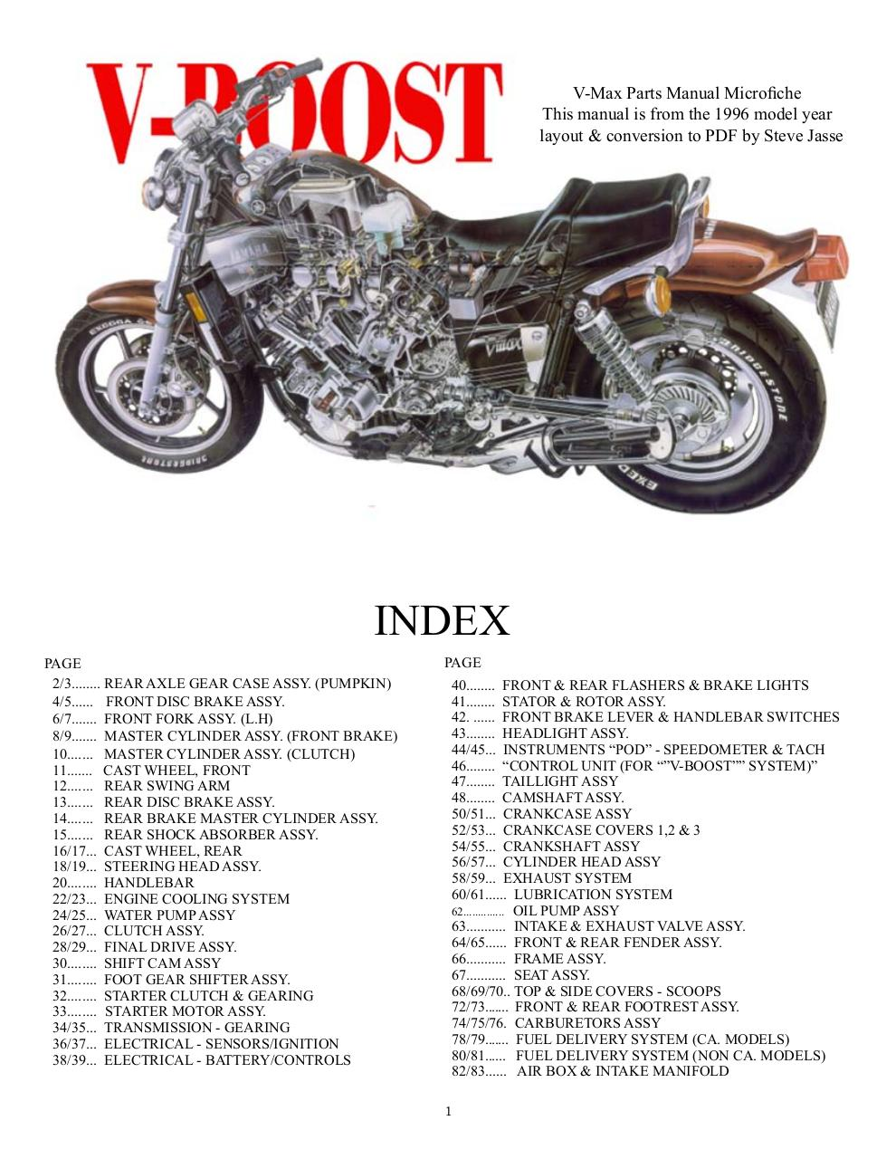 manuel-d'atelier-VMAX-1200-YAMAHA-Parts-Numbers.pdf - page 1/83