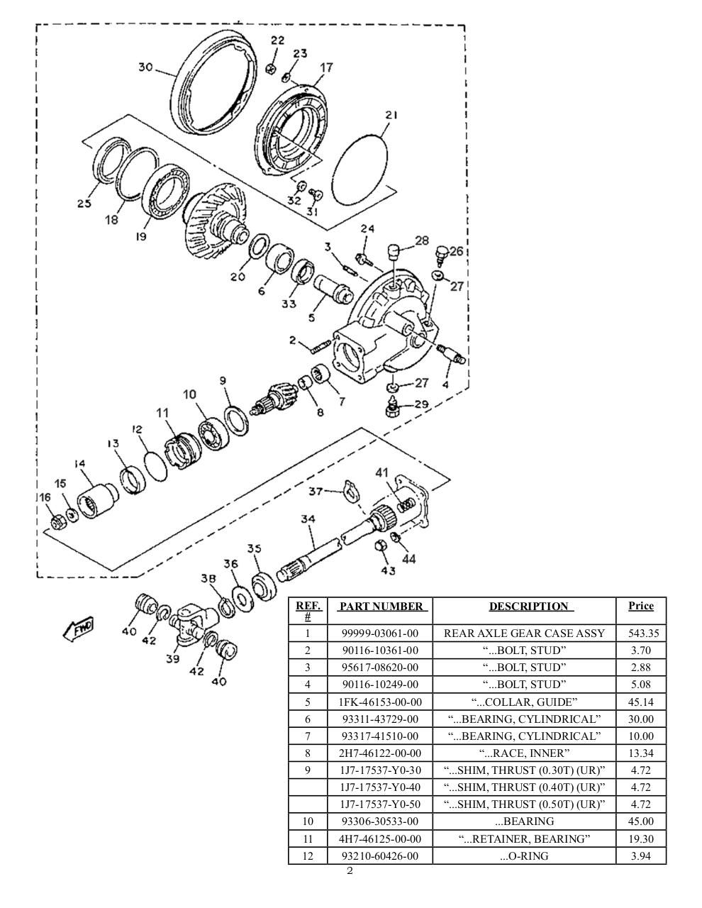 manuel-d'atelier-VMAX-1200-YAMAHA-Parts-Numbers.pdf - page 2/83