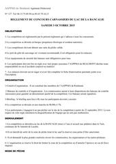reglelment concours carnassiers 2015