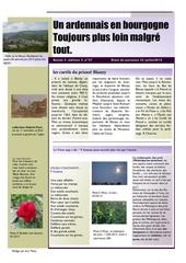 un ardennais en bourgogne journal mensuel juin juillet 2015