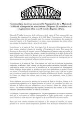 comunique de presse occupation npns docx