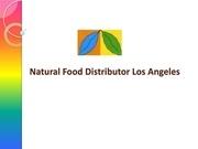 natural food distributor los angeles