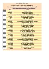 Fichier PDF planning imprimable clea et jeremy aout 2015