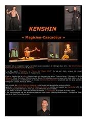 plaquette artistique massage kenshin