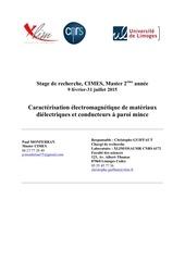 Fichier PDF rapport de stage