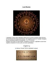 le c ur des runes