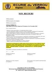 Fichier PDF non recours 3eme route de provence classic 2015