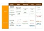 planning activites 6 12