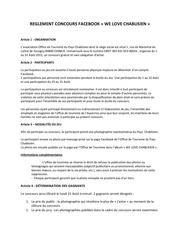 Fichier PDF reglement concours facebook chablis