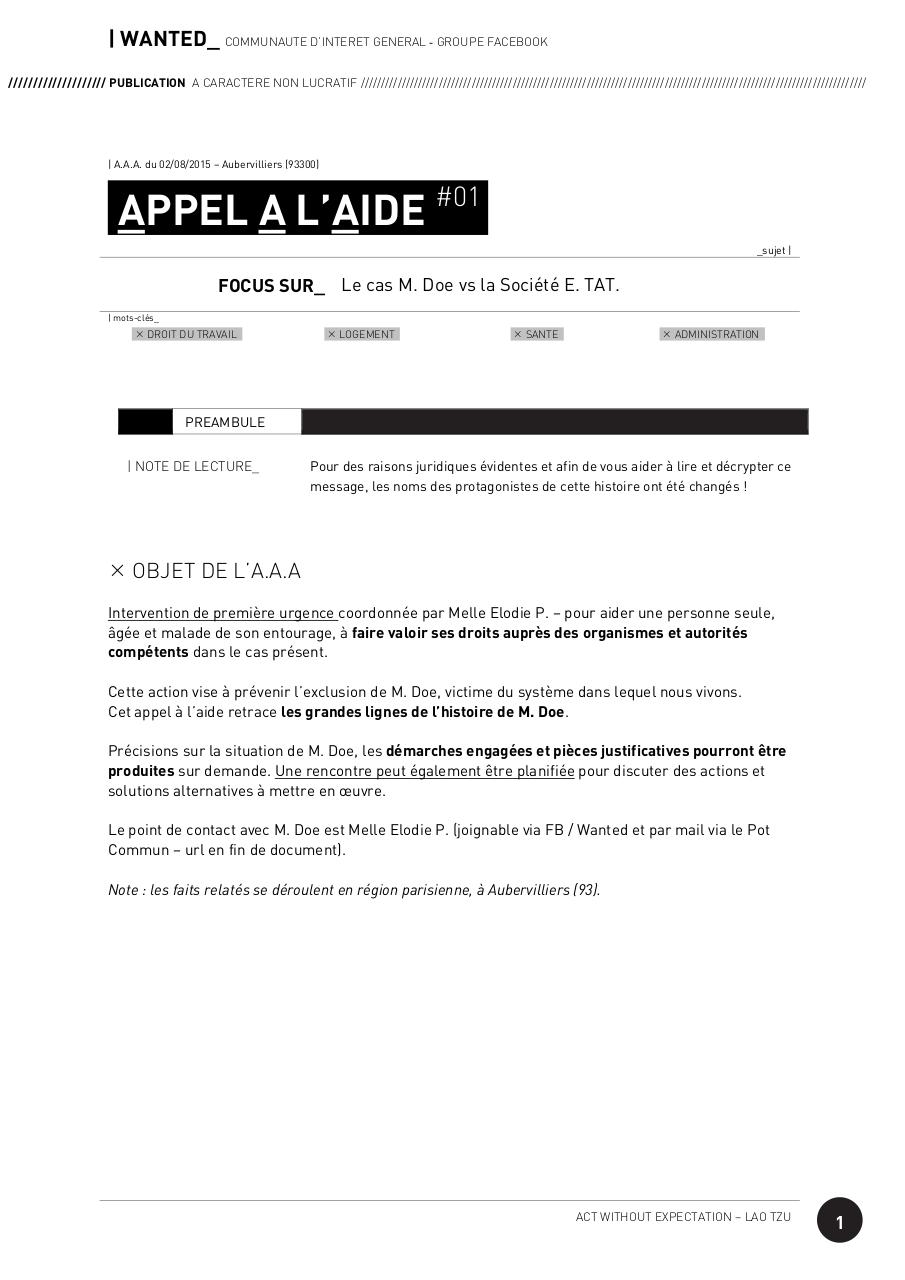 WANTED-FB_AppelAContribution_ElodiePourMDoe_150802.pdf - page 1/4