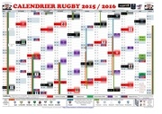 calendrier rugby 2015 2016