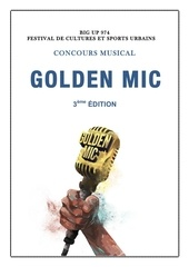 conditions et reglement golden mic 2015