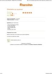 Fichier PDF omelette au saumon