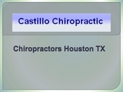 chiropractors houston tx
