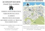 publicite v internet ae concept securite