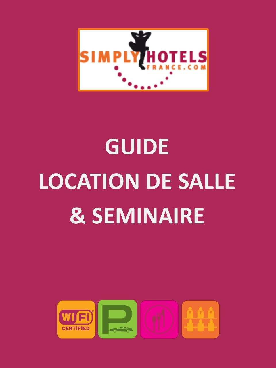 Guide SIMPLY HOTELS FRANCE Location Salle 2015 2016.pdf - page 1/9