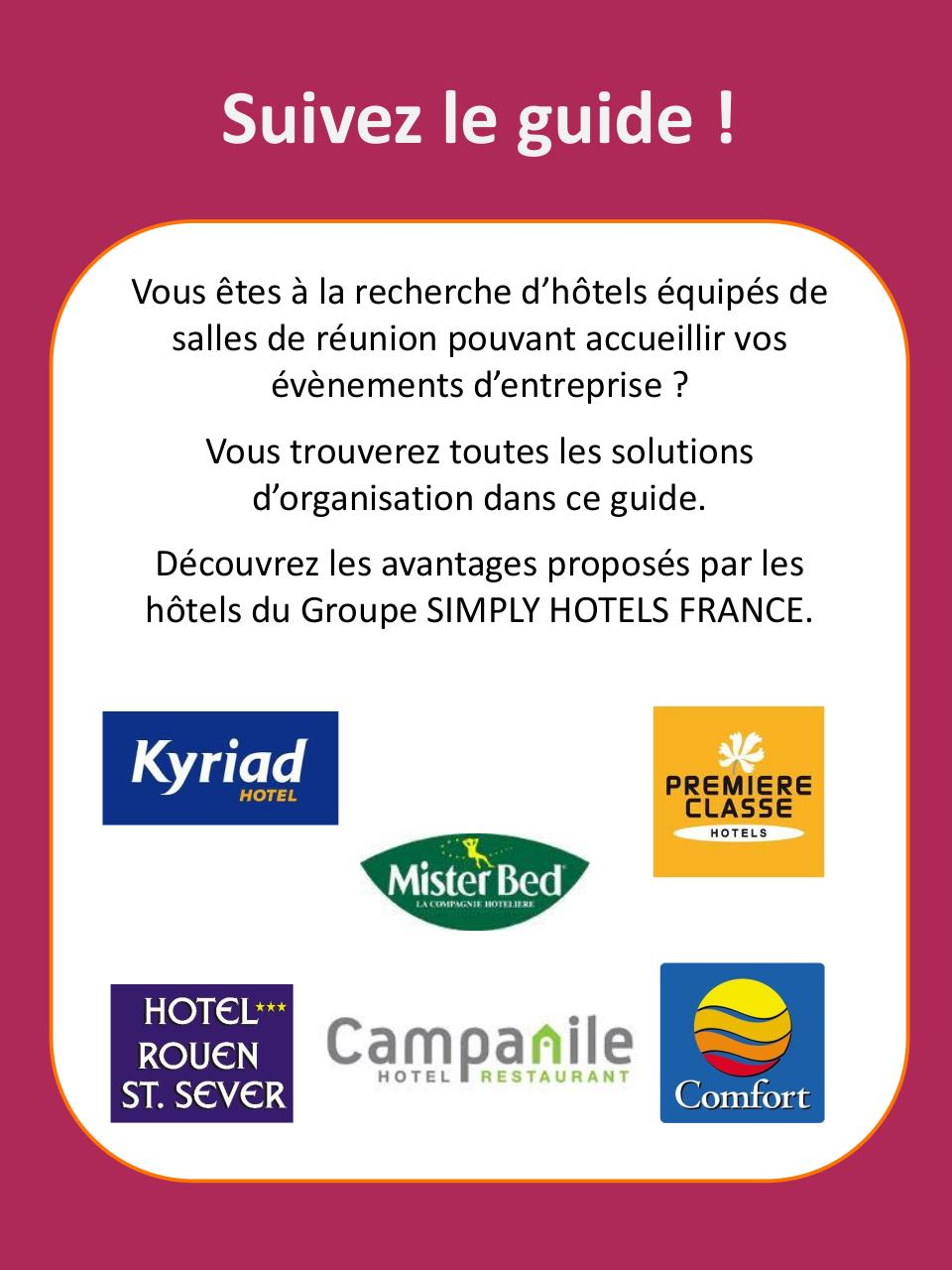 Guide SIMPLY HOTELS FRANCE Location Salle 2015 2016.pdf - page 2/9
