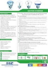 plaquette gestion d energie