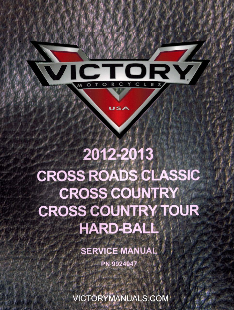 Wiring Diagram Victory Cross Country