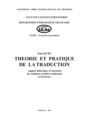 theories et pratiques de la tr