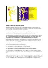 Fichier PDF demande de sponsor pour notre groupe carnaval