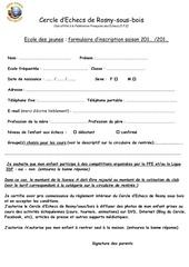 Fichier PDF formulaire d inscription jeunes saison 2015 2016 noir