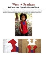 sleeveless fall jumper dress