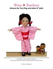 ten ping kimono