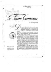la femme tunisienne revue francaise octobre 1960