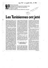 les tunisiennes ont jete leurs voiles aux cactus