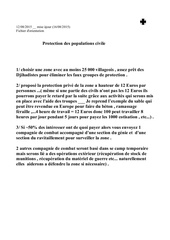 protection prive des populations
