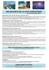 cote adriatique octobre 2015