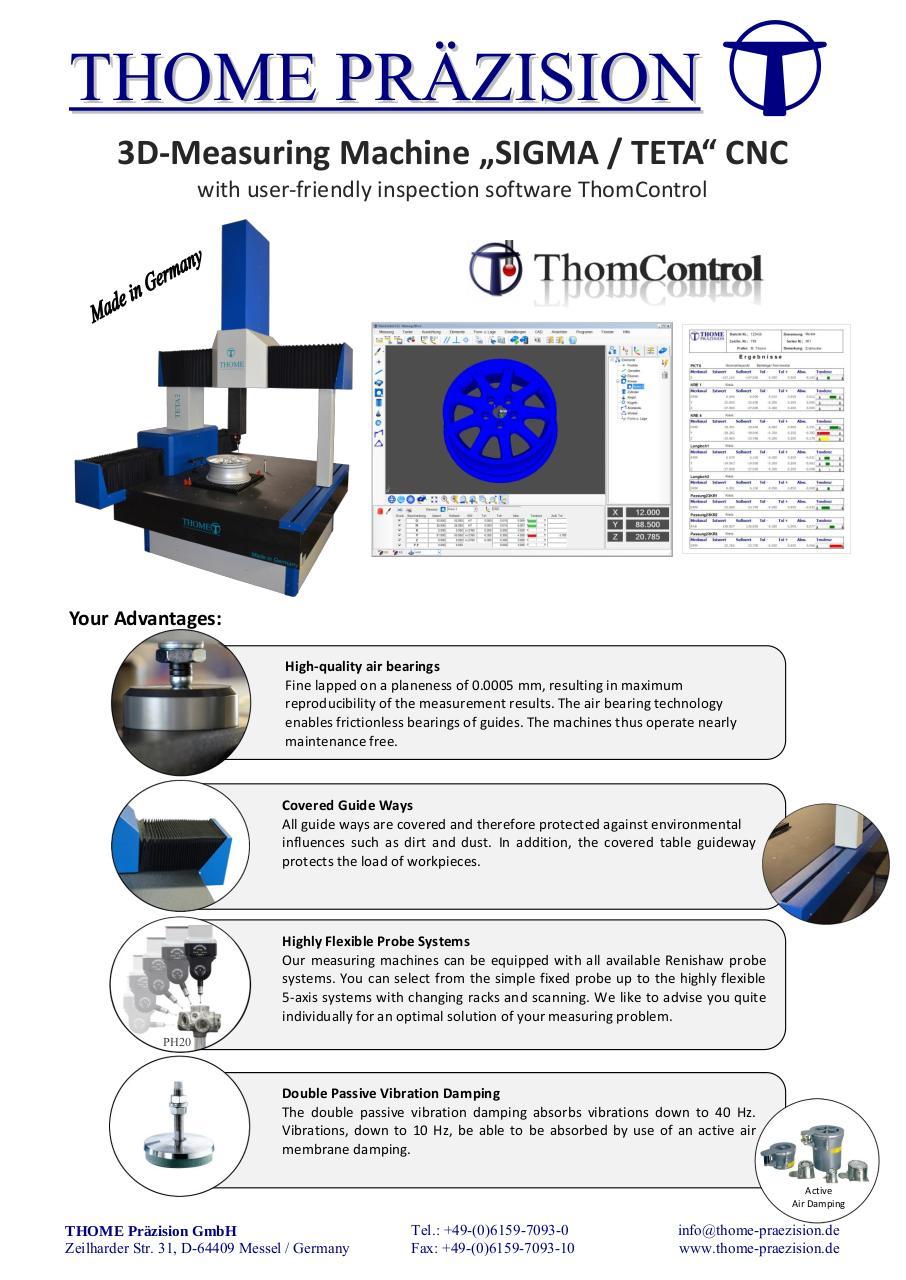 Promotion MMT 3D SIGMA CNC THOME 08 2015 par Bla?ek