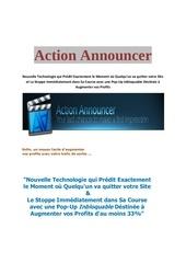 Fichier PDF action announcer