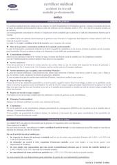 certificat arret de travail s6909