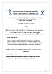 Fichier PDF la formation universitaire en mauritanie et la question