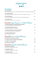 Fichier PDF menu aquazen