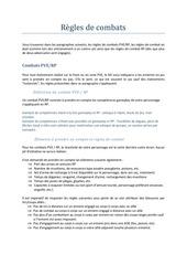 Fichier PDF regles de combat